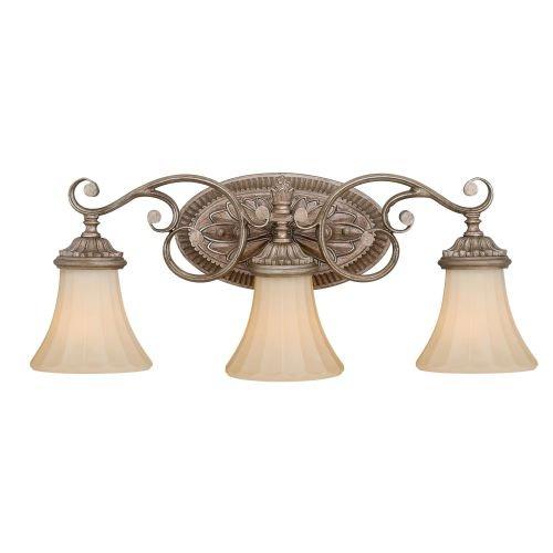 Vaxcel W0156 Avenant 3 Light Vanity Light, French Bronze - Vanity French