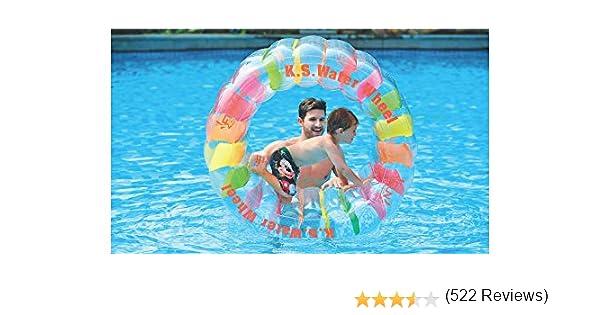 Jilong Rueda Hinchable de Agua 125 cm x 84 cm: Amazon.es: Deportes ...