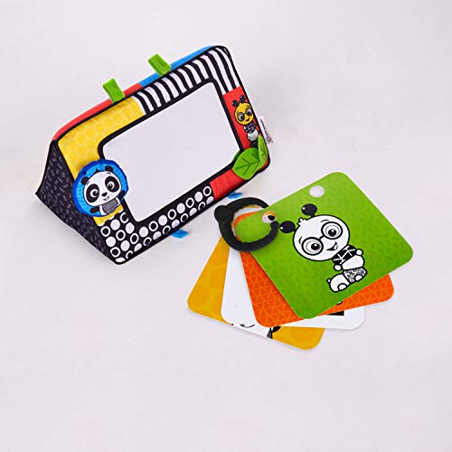 Baby Einstein Flip for Art High Contrast Floor Activity Mirror with Take Along Cards