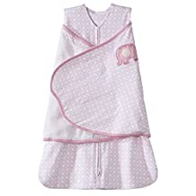 Halo Innovations SleepSack Swaddle Cotton Diamond, Pink, Small
