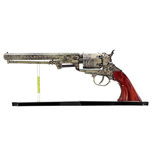 Fascinations Metal Earth Wild West Revolver 3D Metal Model Kit (Model Gun Building Kit)