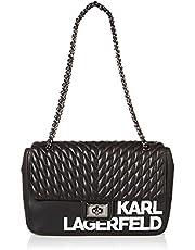 Karl Lagerfeld Paris AGYNESS SIGNATURE LG SHOULDER BAG