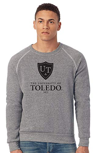 - J2 Sport Toledo Rockets NCAA Unisex Champ Eco-Fleece Solid Sweatshirt