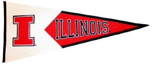 NCAA Illinois Fighting Illini Large Pennant