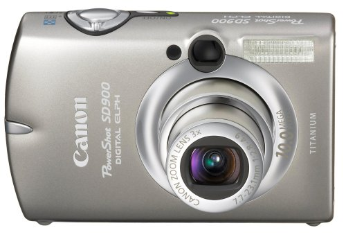 Canon PowerShot SD900 Titanium 10MP Digital Elph Camera with 3x Optical Zoom (OLD MODEL)