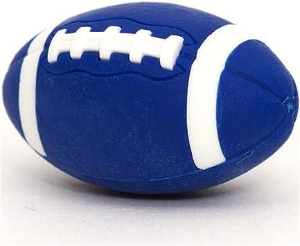 Goma de borrar, balón azul de fútbol americano: Amazon.es ...