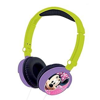 Lexibook - HP010MN - Jeu Électronique - Casque Audio - Minnie Bowtique