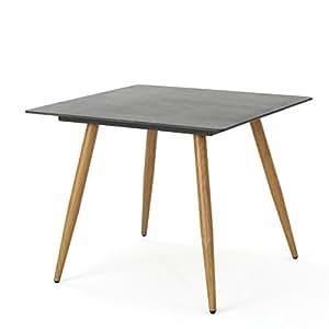 Pegasus al aire libre cuadrado mesa de comedor de vidrio por Christopher Caballero Casa