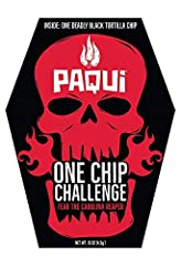 Try the World's Hottest Chip made with the hottest chile pepper on the planet, the Carolina Reaper. Don't say we didn't warn you. This Challenge is for the most daring of spiceheads. Do you dare take the #OneChipChallenge to earn your place o...