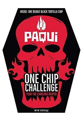 Paqui Carolina Reaper Madness One Chip Challenge Tortilla Chip by Paqui