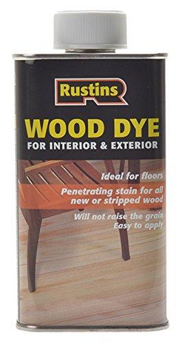 Rustins 5015332650101 Wood Dye - Medium Oak
