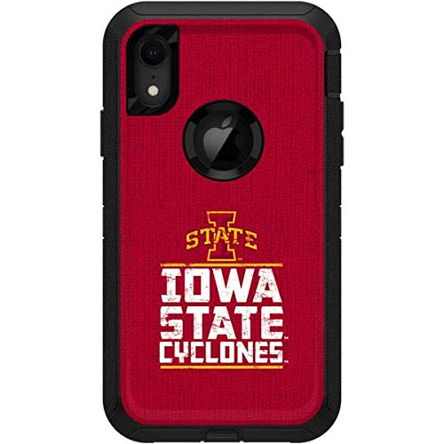 Skinit Iowa State University OtterBox Defender iPhone XR Skin - Officially Licensed Iowa State University OtterBox Case Decal - Ultra Thin, Lightweight Vinyl Decal Protection