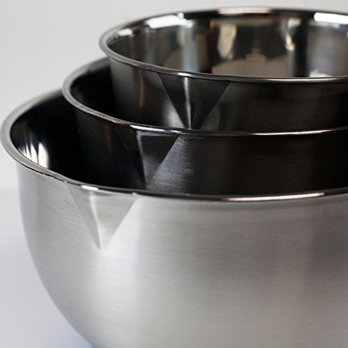 Mixing Bowls set with Pouring Spouts