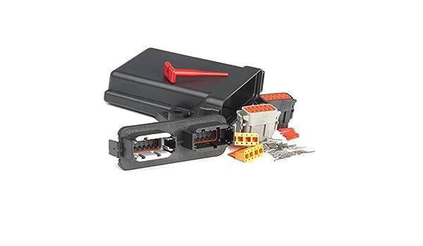 Deutsch DTM 24 Contact PCB Circuit Board Enclosure Kit-Single End-Black