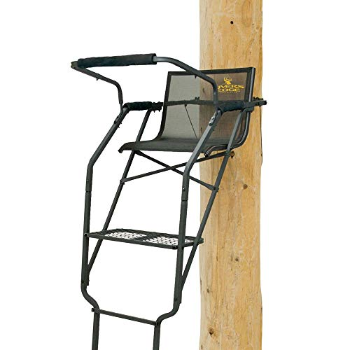 (Rivers Edge RE631 Relax Wide Ladder Stand )