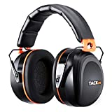 Ear Muffs Noise Cancelling Tacklife Shooter Safety Hearing Protection, Folding-Padded Head Band Ear Cups, NRR 28dB (SNR 34dB) Professional Ear Defenders for Hunting, Shooting, Construction work| HNRE1