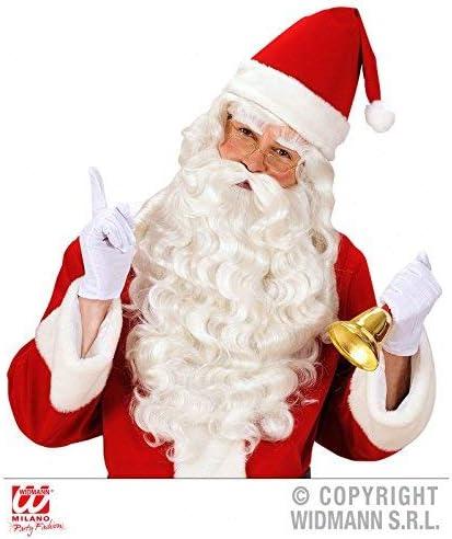 Lively Moments Blanc Court Weihnachtsmannhandschuhe Taille XL Gants P/ère No/ël comme Costume Accessoire