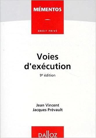 Livre gratuits Voies d'exécution. 9ème édition pdf, epub ebook