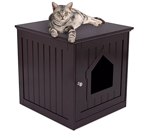 Internet's Best Decorative Cat House & Side Table | Cat