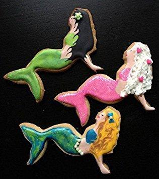 En acier inoxydable Ensemble de 4 emporte-pi/èces Jun Pour d/écoupe de biscuits /étoile de mer coquillage En forme de sir/ène hippocampe