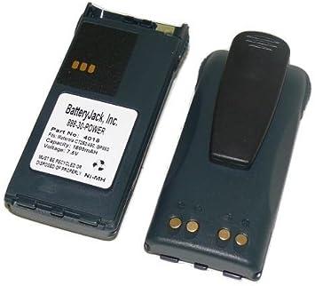 2x PMNN4017 PMNN4018 PMNN4021 2-Way Radio Battery For Motorola CT150 CT250 CT450