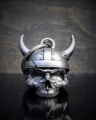3-D BELLS Viking Helmet Skull 3-D Motorcycle Ride Bell