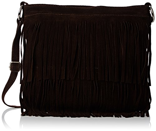 Mujer Daniela Bolso Bandolera Coffee Handbags Marrón Girly IHfqAwA