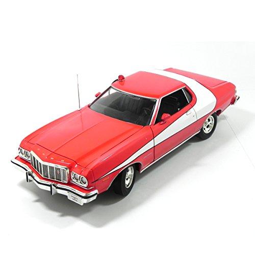 1974 Fordgran Torino Starsky Hutch 1/18 Greenlight Vermelho