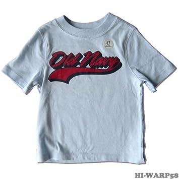 amazon オールドネイビー old navy 水色ロゴプリント tシャツ 2t 90cm