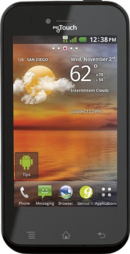 (T-Mobile myTouch by LG, Black (T-Mobile))
