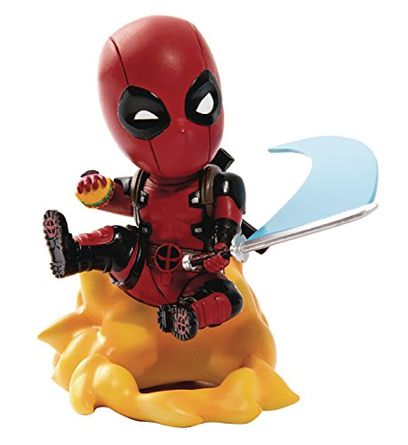 Beast Kingdom Marvel Comics Mea-004 Deadpool Ambush Mini Egg Attack Action Figure