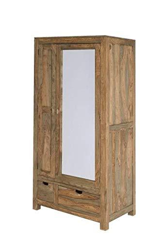 MASSIVMOEBEL24.DE Palisander Holz massiv Garderobe Sheesham ...
