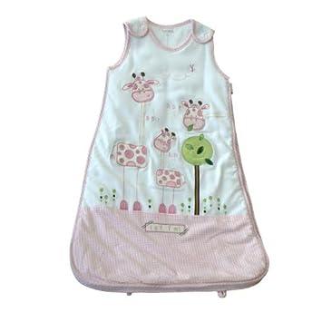 size 40 bdb31 2a5f0 Pitter Patter Baby Sleeping Bag Pink Giraffe 18-24 Months 1 ...