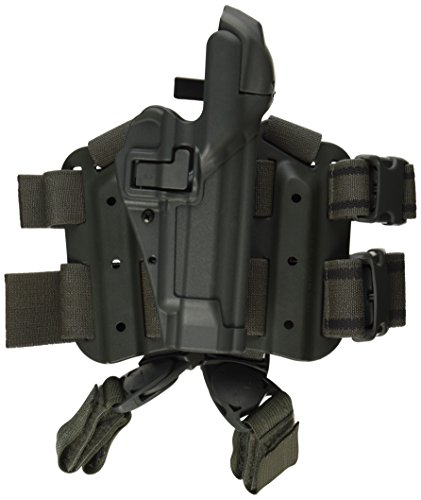 BLACKHAWK! Serpa Level 3 Tactical Foliage Green Holster, Size 04, Left Hand (Beretta 92/96/M9 Std or A1 w/rails (NOT Brig/Elite)