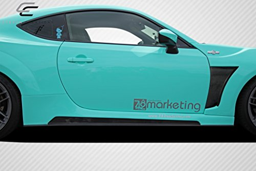 Carbon Creations Replacement for 2013-2019 Scion FR-S Toyota 86 Subaru BRZ 86-R Wide Body Side Skirts Rocker Panels - 2 ()