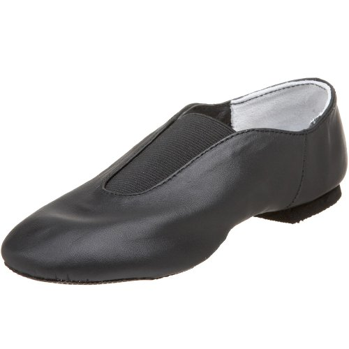 Dance Class GS400 Leather Gore (Little KidBig Kid)Black4 M US Big Kid