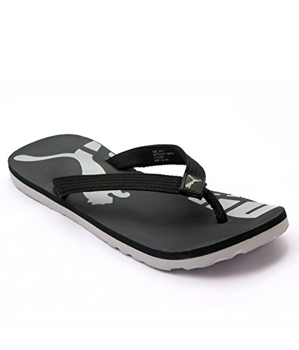 80530492ac Puma John Black Flip Flops: Buy Online at Low Prices in India - Amazon.in
