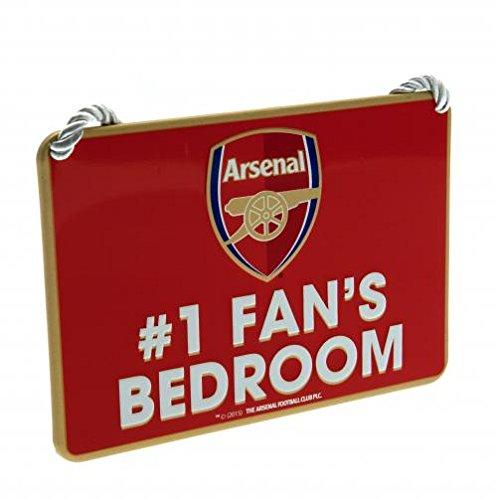 Arsenal No 1 Fan Bedroom (1 Fan Sign)
