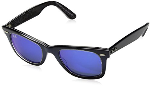 Ray-Ban Original Wayfarer Sunglasses (RB2140 50) Blue/Blue Acetate - Non-Polarized - - Raybans Wayfare