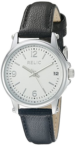 Relic Women's ZR34348 Matilda Analog Display Analog Quartz Black Watch