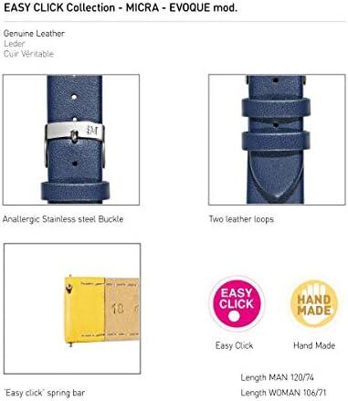 MORELLATO[モレラート] カーフ 時計ベルト MICRA マイクラ 20mm ブルー 交換用工具付き [正規輸入品] X5200875062020
