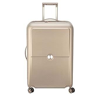Delsey Paris Turenne 70 cm 4 Double Wheels Expandable Trolley Suitcase (Hardside), Beige (00162182017)