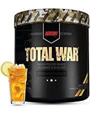 Redcon1 Total War - Limited Edition Line - Pre Workout, 30 Servings, Boost Energy, Increase Endurance and Focus (Iced Tea & Lemonade)