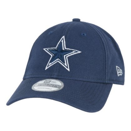 Dallas Cowboys Cap - New Era 9Twenty Core Shore Dallas Cowboys Navy Strapback