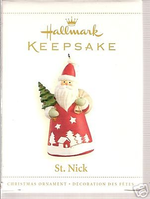 Hallmark Keepsake Ornament - St. Nick Santa Claus 2006 (PR3945) ()