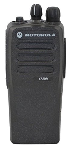 New Front Housing For Motorola CP200d 16 channel two way radio Walkie Talkie Case Replacement Refurbish Refurb Kit with Buttons Channel PTT button Stickers by Dollar Radio Sales (Image #3)