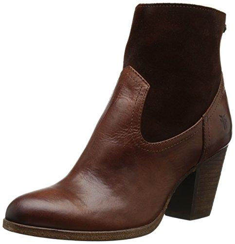 Frye Kvinna Tessa Zip Kort Boot Redwood
