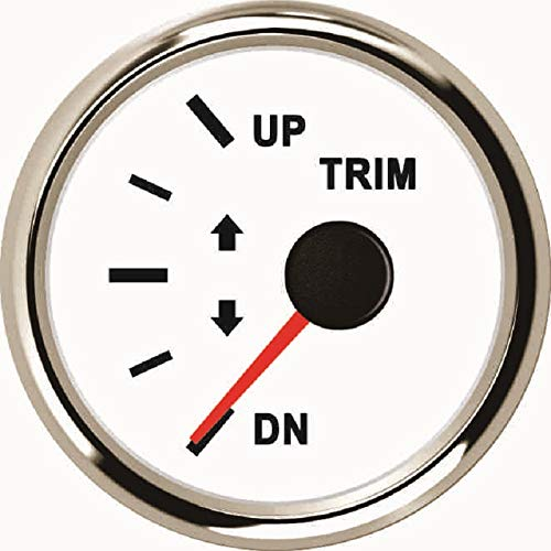 Trim Gauge Meter 0-190ohm UP-DN 52mm 9-32V With Backlight: