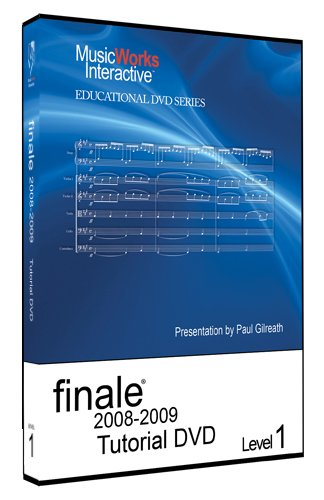 How to use the finale 2009 user manual.