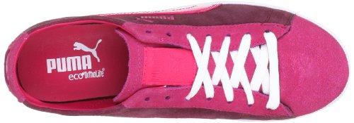 Puma Glyde Lo Wn's Sneaker Twilight Blue / White / Rojo (Rot (cabernet 15))